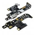 Шлейф для Asus ZenFone Live (ZB501KL), мікрофона, конектора зарядки, плата зарядки