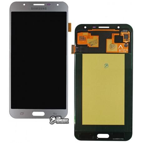 Дисплей для Samsung J710F/DS Galaxy J7 Neo; Samsung, серебристый, з сенсорним екраном