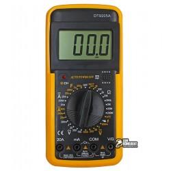 Мультиметр DT-9205A с функцией автоотключения (ток до 20А)
