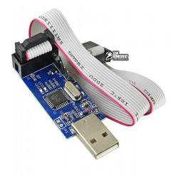 Программатор USBASP-ISP AVR, со шлейфом