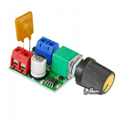 Регулятор оборотов двигателя постоянного тока PWMDC5, Ucc=3-35V Imax=5A
