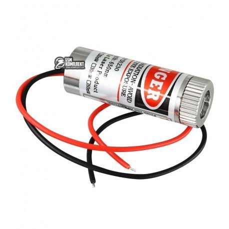 Лазер красная линия SYD1230 5мВт, с регулируемым фокусом