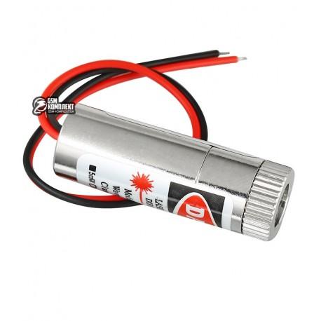 Лазер красный крест SYD1230 5мВт, с регулируемым фокусом