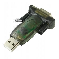 Переходник CBR USB - RS232, штекер USB- шттекер RS232