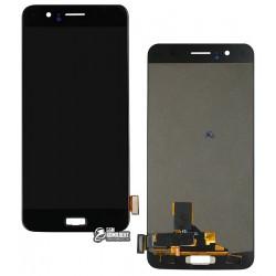 Дисплей для OnePlus 5, черный, с сенсорным экраном (дисплейный модуль)