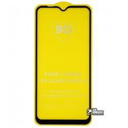 Закаленное защитное стекло для Nokia 2,1, 0,25 мм, 2.5D, 9H, Full Glue, черное