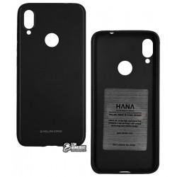 Чехол для Xiaomi Redmi Note 7, Molan Cano Glossy Jelly, глянцевый силикон, (black)