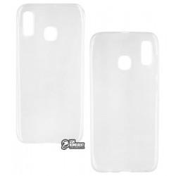 Чехол для Samsung A205F/A305F Galaxy A20/A30, Toto, ультратонкий силикон, прозрачный