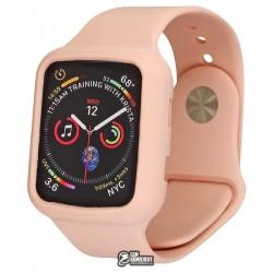 Ремешок для Apple Watch 38 мм, Apple Watch Silicone с бампером, цельный