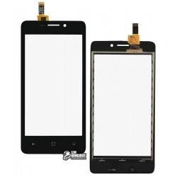 Тачскрин для Prestigio PAP 3457 DUO MultiPhone Wize F3, черный
