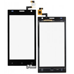 Тачскрин для Prestigio PSP3458 DUO MultiPhone Wize O3/3459 Duo Wize O3, черный