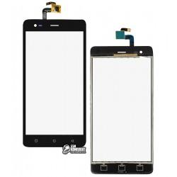 Тачскрин для Prestigio MultiPhone 5552 Grace R5 LTE, черный