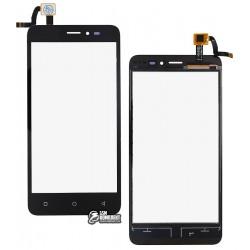 Тачскрин для Prestigio MultiPhone PSP 3510 Wize G3, черный
