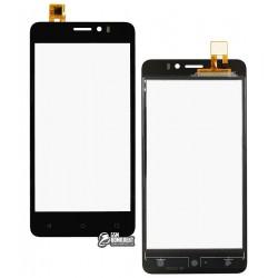 Тачскрин для Prestigio MultiPhone 5509 Muze K5 DUO LTE, черный