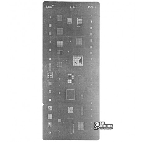 BGA-трафарет P3071 для iPhone XR