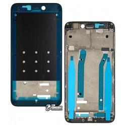 Рамка крепления дисплея для Xiaomi Redmi 4X, Original (PRC), черная