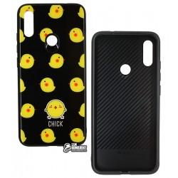 Чехол для Xiaomi Redmi Note 7, TOTO, Cartoon Print Glass, Chick