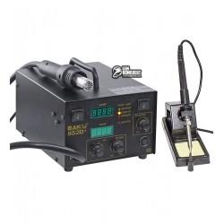 Паяльная станция термовоздушная BAKU BK-852D+, компрессорная