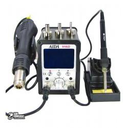 Термовоздушная паяльная станция AIDA 996D фен, паяльник