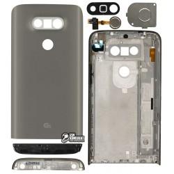 Корпус для LG G5 H820, G5 H830, G5 H850, G5 LS992, G5 US992, G5 VS987, серый