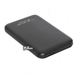 """Карман внешний 2.5"""" HQ-Tech, Sata, USB 3.0, черный"""