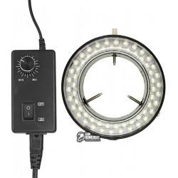 Кольцевая LED подсветка, с регулировкой яркости, для микроскопов серии XTX, AC 220V