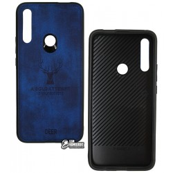 Чехол для Huawei P Smart Z, TOTO Deer Shell With Leather Effect