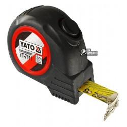 Рулетка YATO YT-7111 с магнитным наконечником и нейлоновым покрытием b=25мм, l=5м