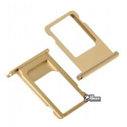 Держатель SIM-карты для Apple iPhone 6S, золотистый