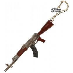 Брелок металлический PUBG Ammunition and Guns, калаш