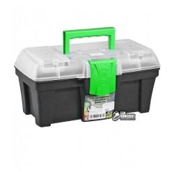 """Ящик для инструментов с органайзером Virok """"Green box 12"""", 300 x 167 x 150мм"""