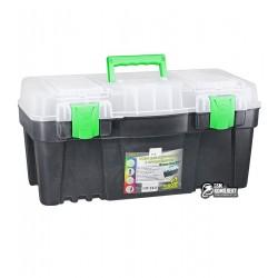 """Ящик для инструментов с органайзером Virok """"Green box 22"""" 550 x 267 x 270мм"""