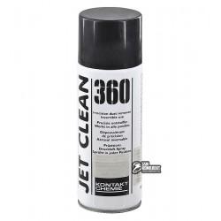 Сжатый воздух Kontakt Chemie JET CLEAN - 360, (вверх дном) не вызывает эффекта заморозки, 200 мл