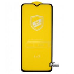 Закаленное защитное стекло для OnePlus 7, 0,26 mm 9H, 3D Glass (4D ARC), черное