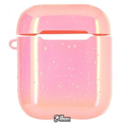 Чехол для Apple AirPods Rainbow case (pink)