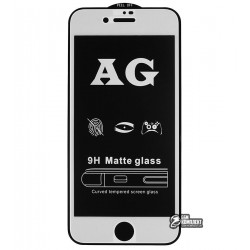Закаленное защитное стекло для Apple iPhone 7 / iPhone 8, 0,26 мм 9H, 2.5D, Full Glue, матовое