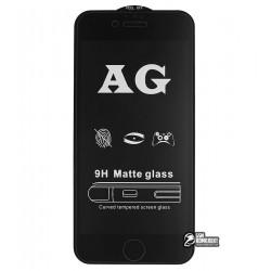 Закаленное защитное стекло для Apple iPhone 6, iPhone 6S, 0,26 мм 9H, 2,5D, Full Glue, матовое