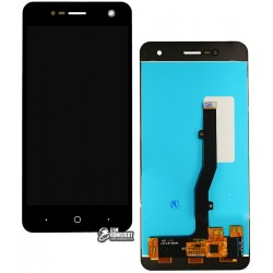 Дисплей для ZTE Blade V8 Mini, черный, с сенсорным экраном, Original (PRC)