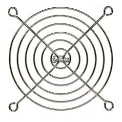 Решетка для вентилятора 80 x 80 мм, металлическая, никелированная