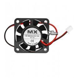 Вентилятор MX-4010S 40 x 40 x 10 мм, 12V, 0.1A, 2 провода