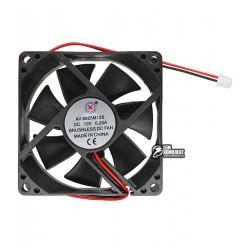 Вентилятор AV-8025M12S 80 x 80 x 25 мм, 12V, 0.2A, 2 провода