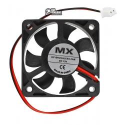Вентилятор MX-5010S 50 x 50 x 10 мм, 12V, 0.16A
