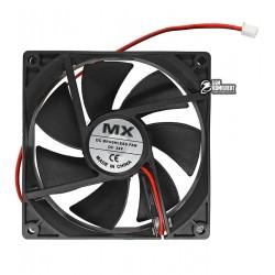 Вентилятор MX-9025 92 x 92 x 25 mm, 12V, 0.2A, 2 провода
