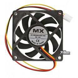 Вентилятор MX-7015 70 x 70 x 15 мм, 12V, 0.2A, 3 провода с функцией FG