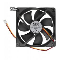 Вентилятор MX-12025M12S 120 x 120 x 25 мм, 12V, 0.2A, 3 провода с функцией FG