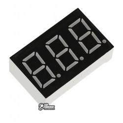 Индикатор 7-сегментный 3631BS, ОА, 3 разряда, 0.36 дюйма, красный