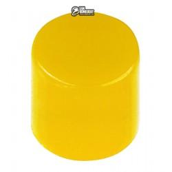 A56 Толкатель кнопки 6x6, желтый, внутренний диаметр 3,2мм