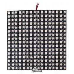 Адресная светодиодная матрица, 16x16 led, на микросхеме WS2812