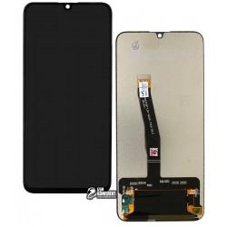 Дисплей Huawei Honor 10 Lite, черный, с сенсорным экраном (дисплейный модуль)
