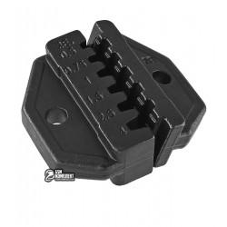 Матрица Pro'sKit CP-236DE для кримпера CP-372A (разъемы AWG 22/20/18/16/14/12)